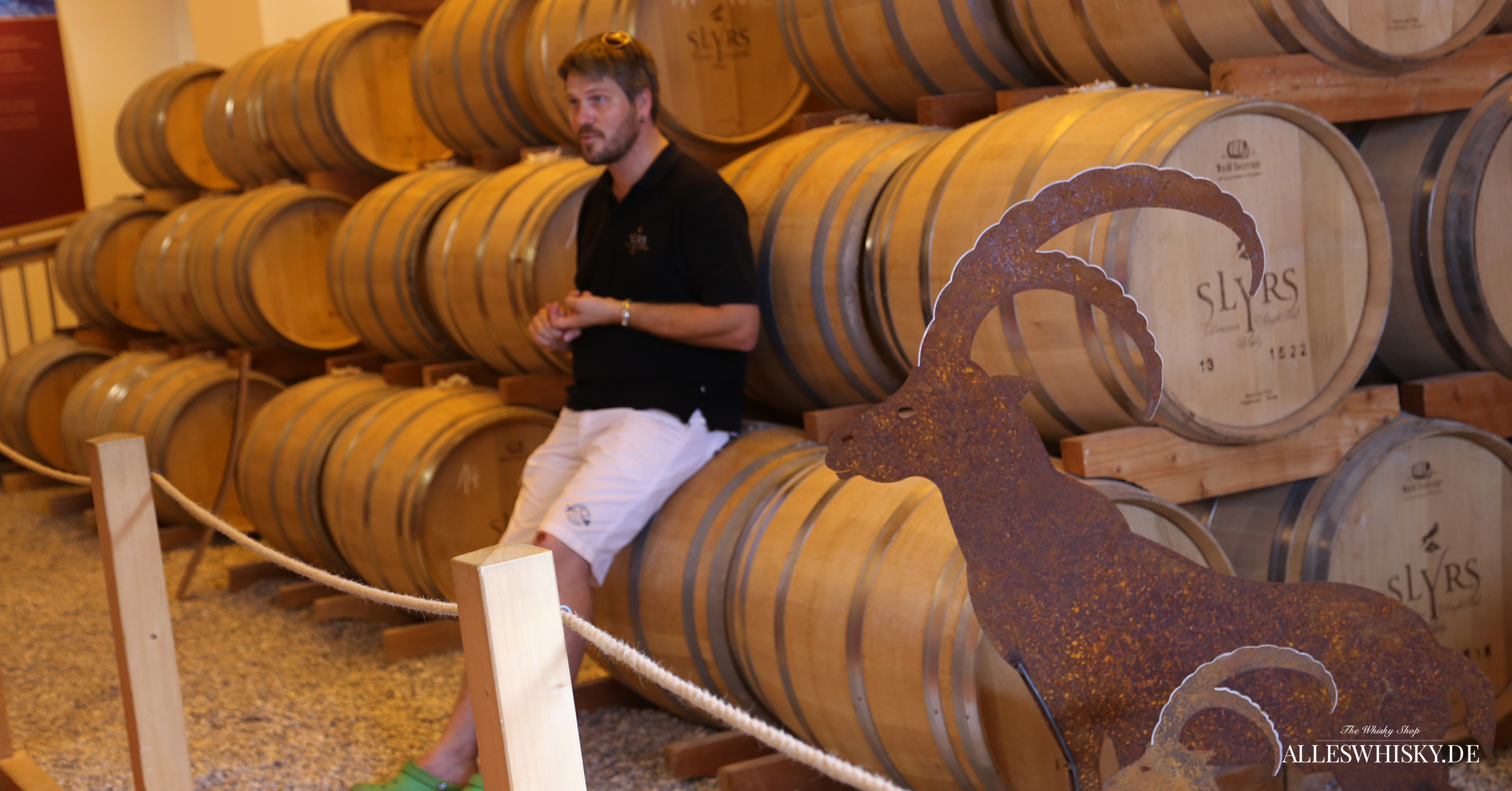 Slyrs Whisky Brennerei Führung mit Tobias Maier am 18. Juli 2015
