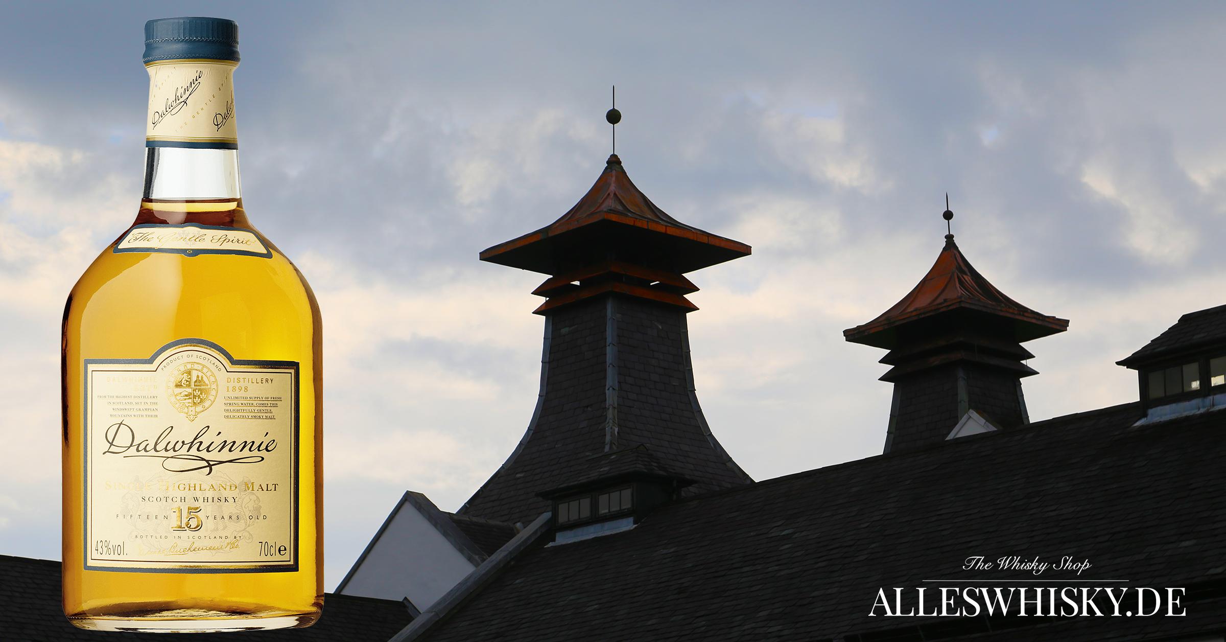 Dalwhinnie 15 Jahre Whisky Brennerei Kiln Juni 2016
