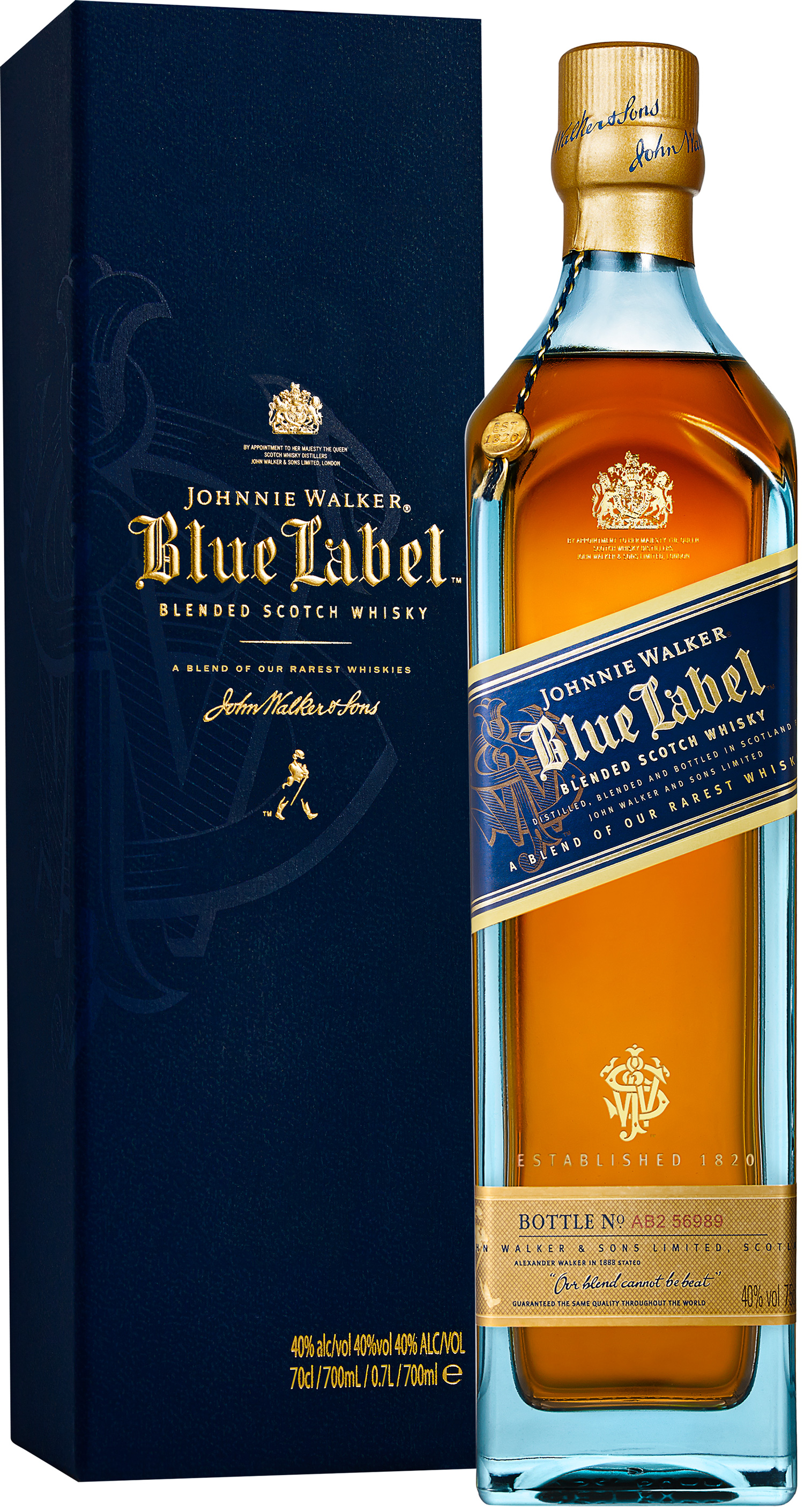 Johnnie Walker Blue Label - Premium Blended Whisky