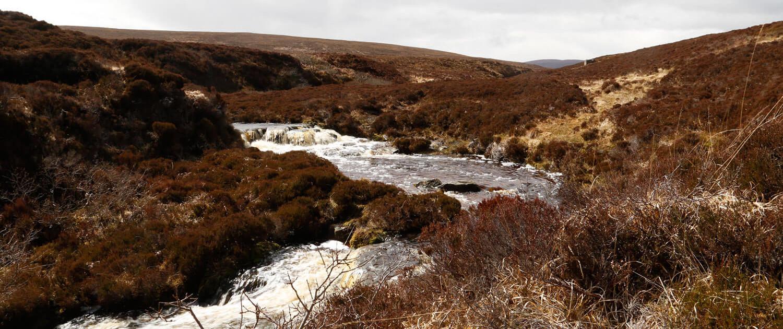 Isle of Hoy Fluss im Mai 2015