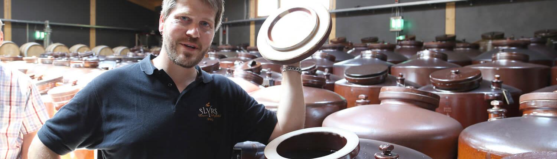 1. Destillateur der Lantenhammer Brennerei seit Neubeginn