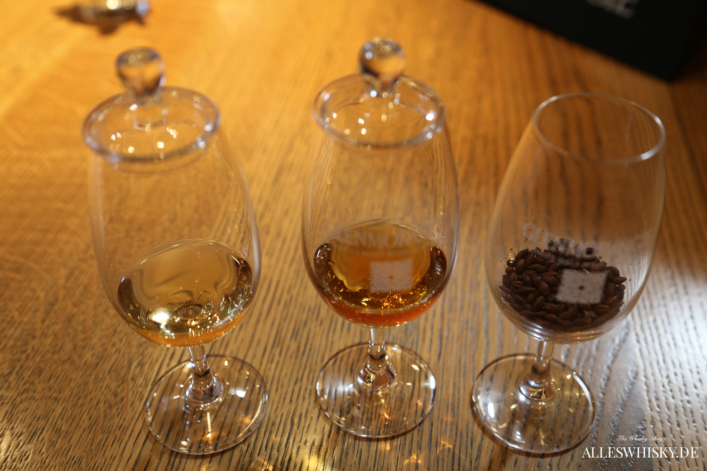 Glenmorangie Tasting und Nosinggläser