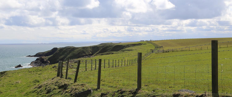 Wanderung nördlich von Aberdeen - Collieston to Old Slains Castle