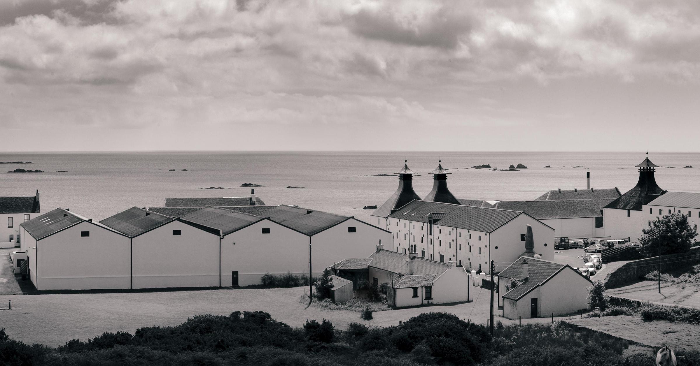 Ardbeg Brennerei auf der Isle of Islay