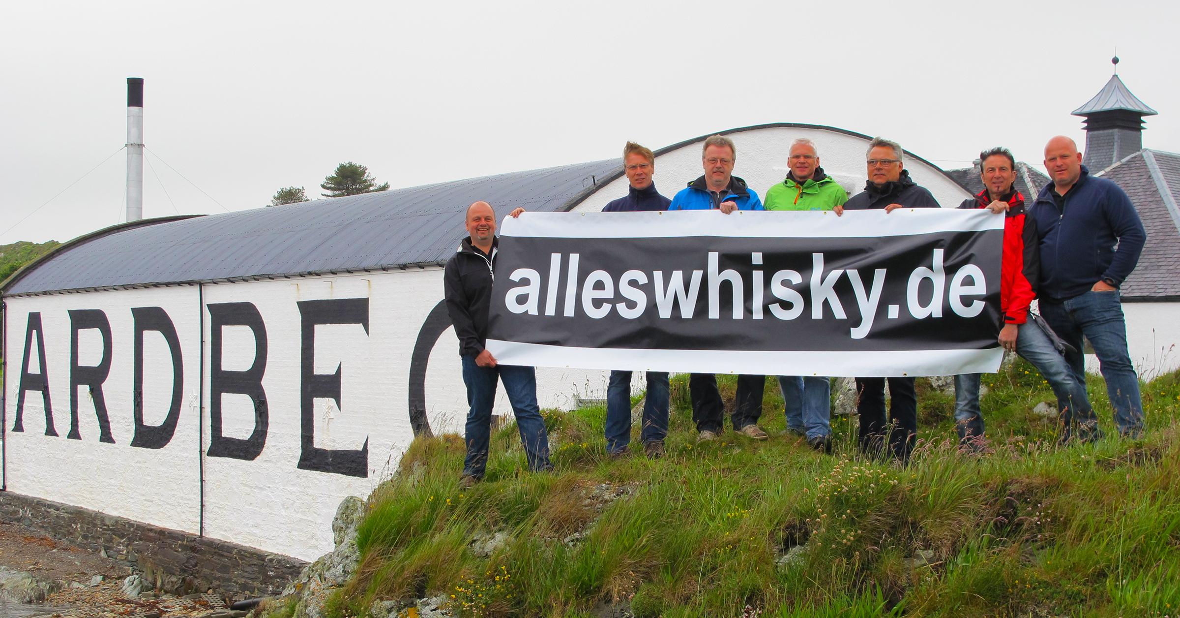 Das alleswhisky.de Team - Immer wieder schön dabei zu sein