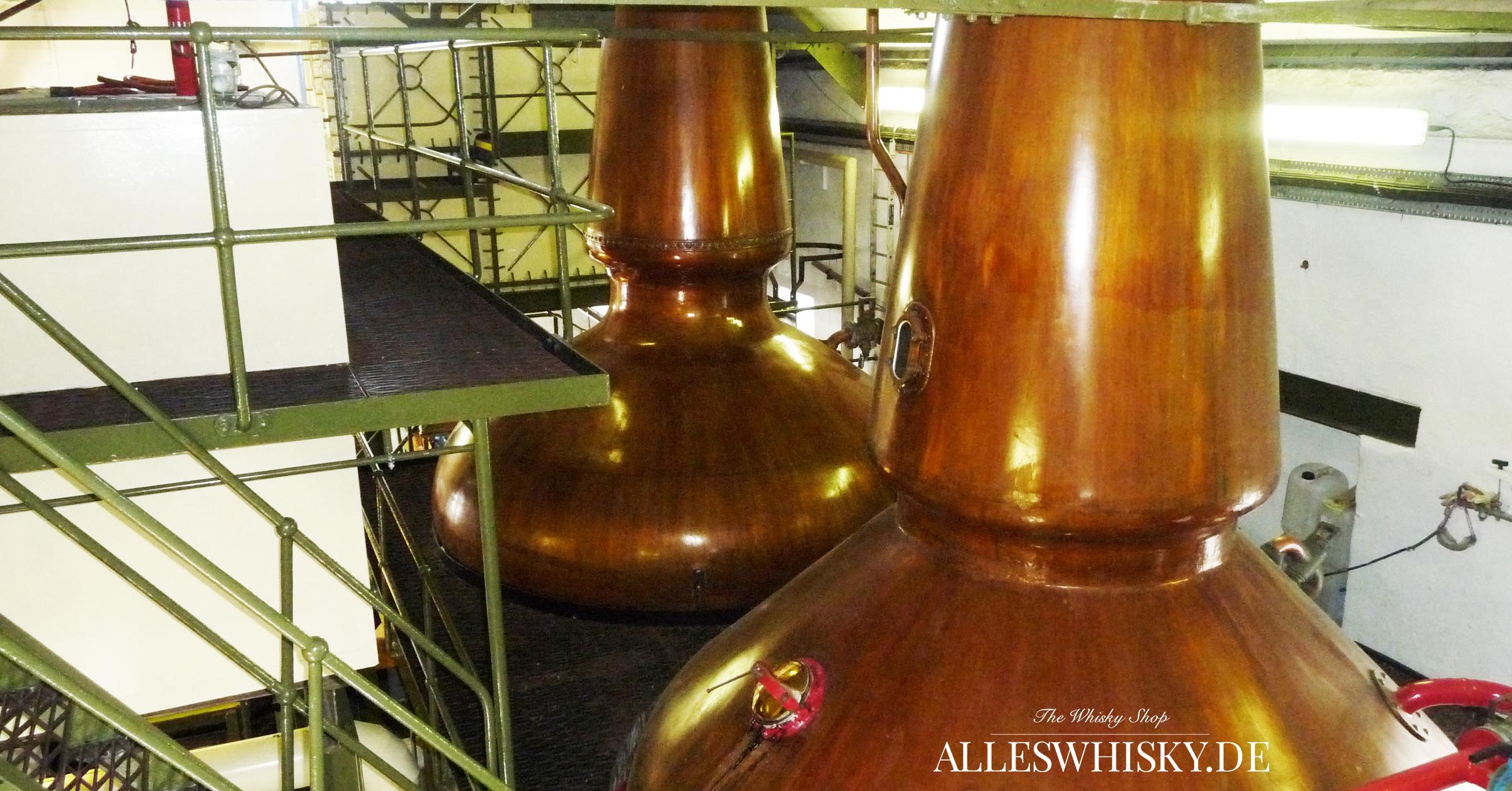 Ardbeg - Das eine Paar an Wash- und Spirit-Still in der Brennerei