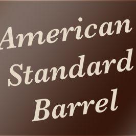 American Standard Barrel