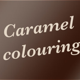 Caramel colouring