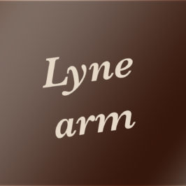 Lyne arm – Lyne pipe