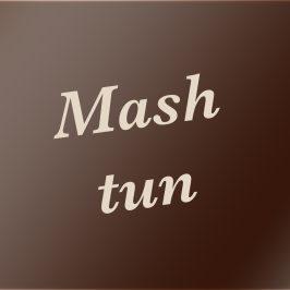 Mash tun