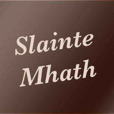 Slàinte Mhath