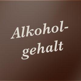 Alkoholgehalt