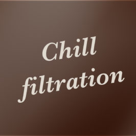 Chill filtration