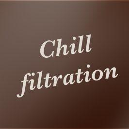Chill filtration