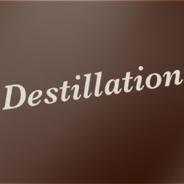 Destillation