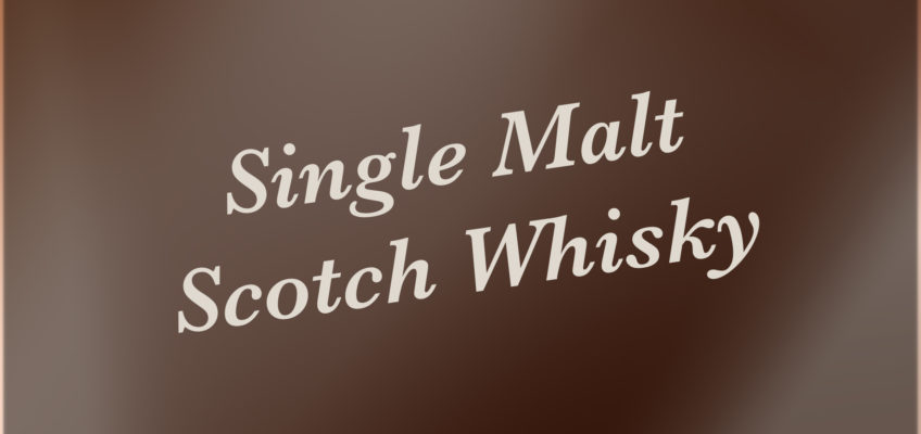 Single malt wissen