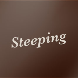 Steeping