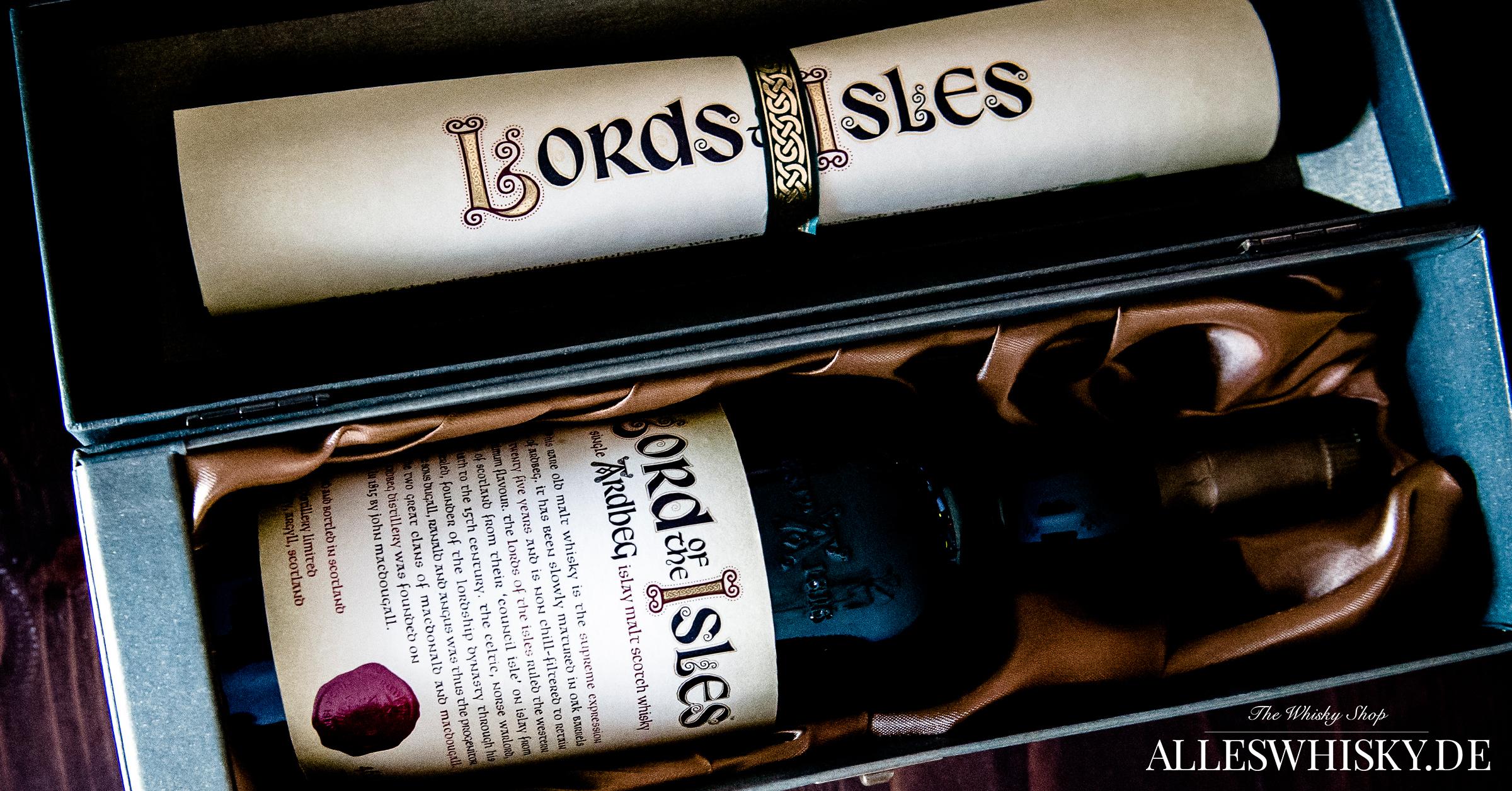 Ardbeg - Lord of the Isles - in Geschenkverpackung