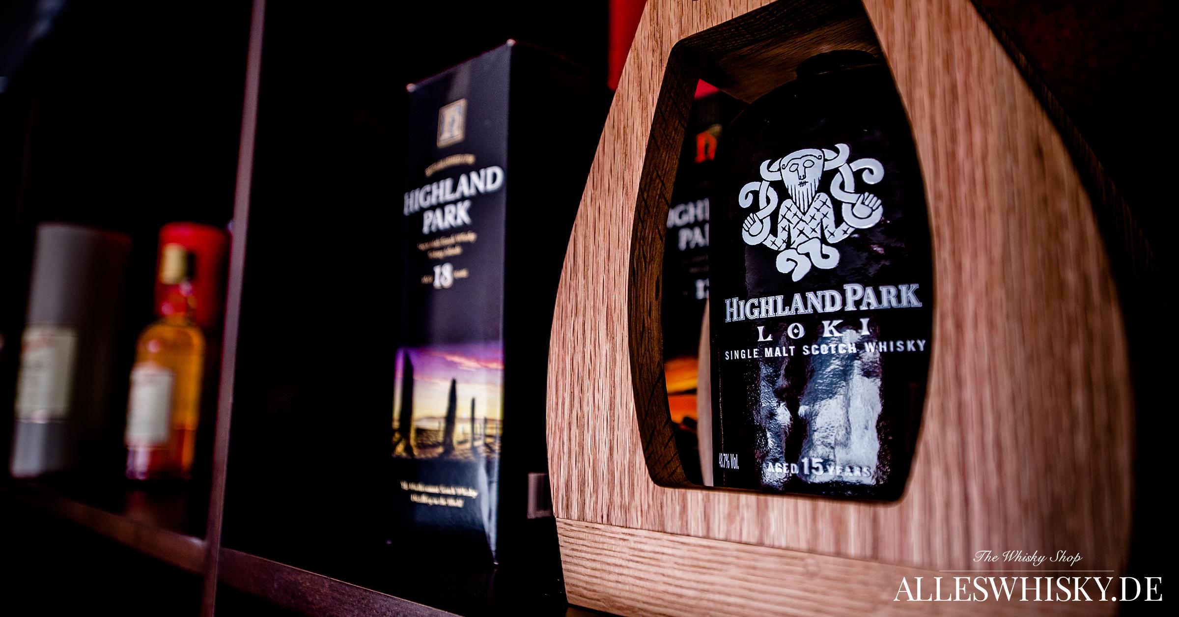 Highland Park Abfüllungen 18 Jahre und der exklusive Odin aus der Valhalla Serie