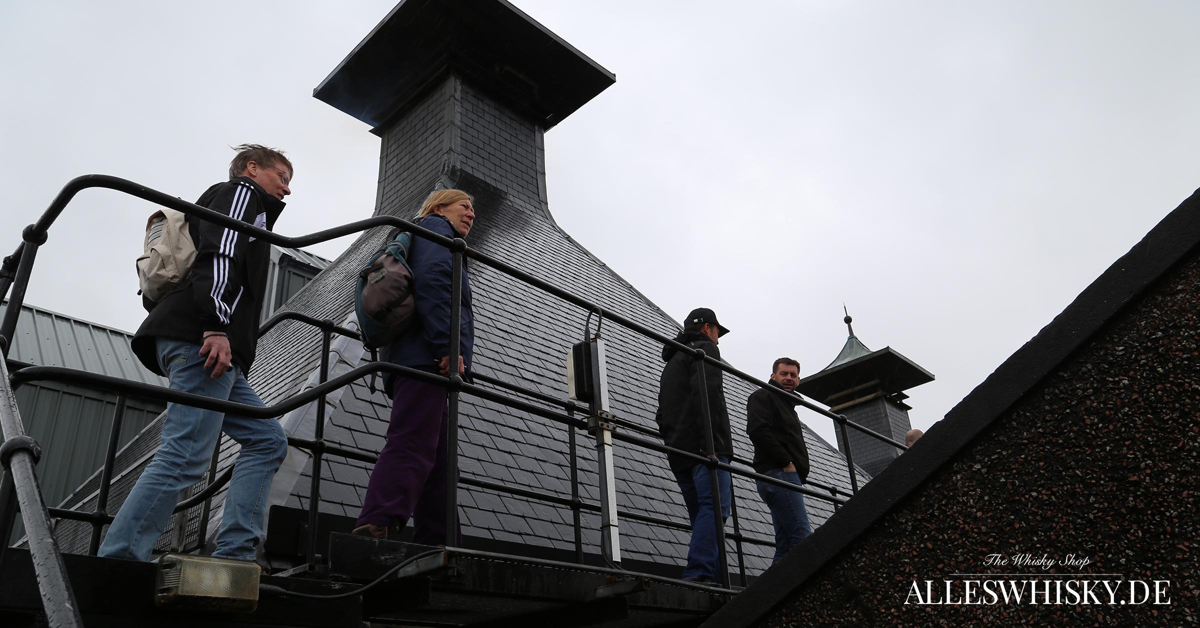 Highland Park - Aufstieg zum Kiln Pagode Roof