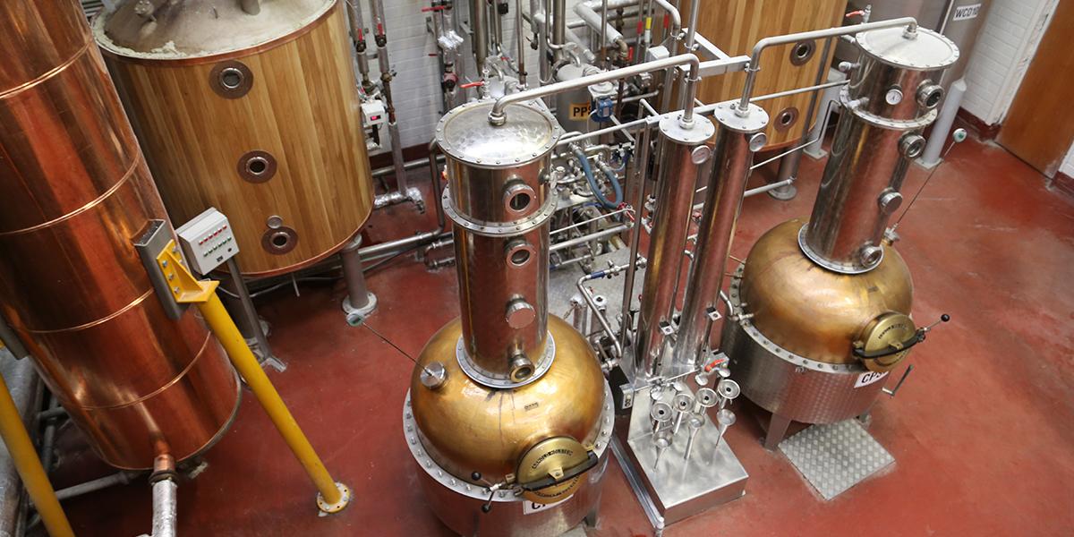 Whiskey Reise Irland 1.0 im Mai 2016 West Dork Distillery Pot Stills