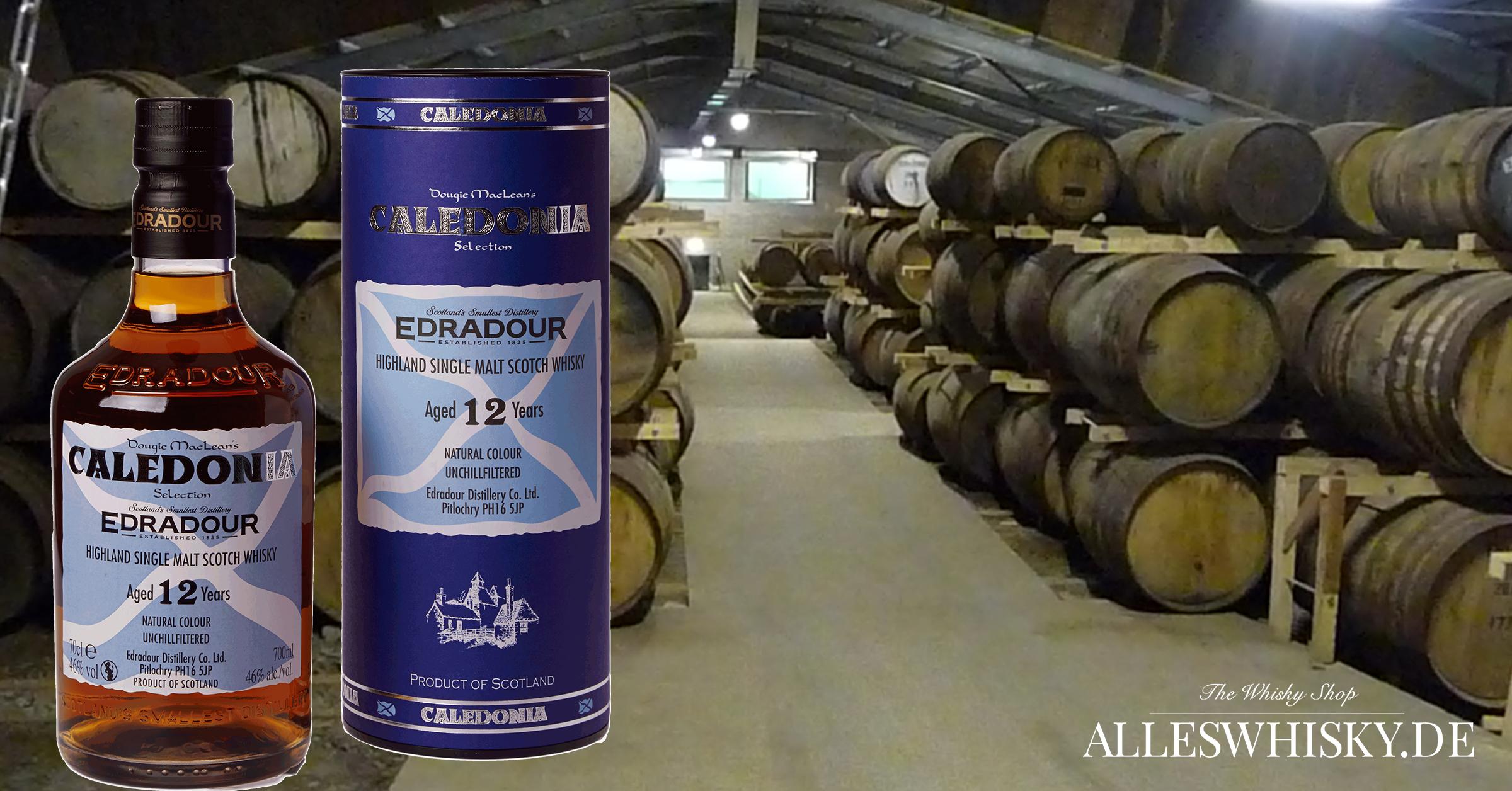Edradour 12 Jahre Calendonia Whisky Brennerei Warehouse Oktober 2011