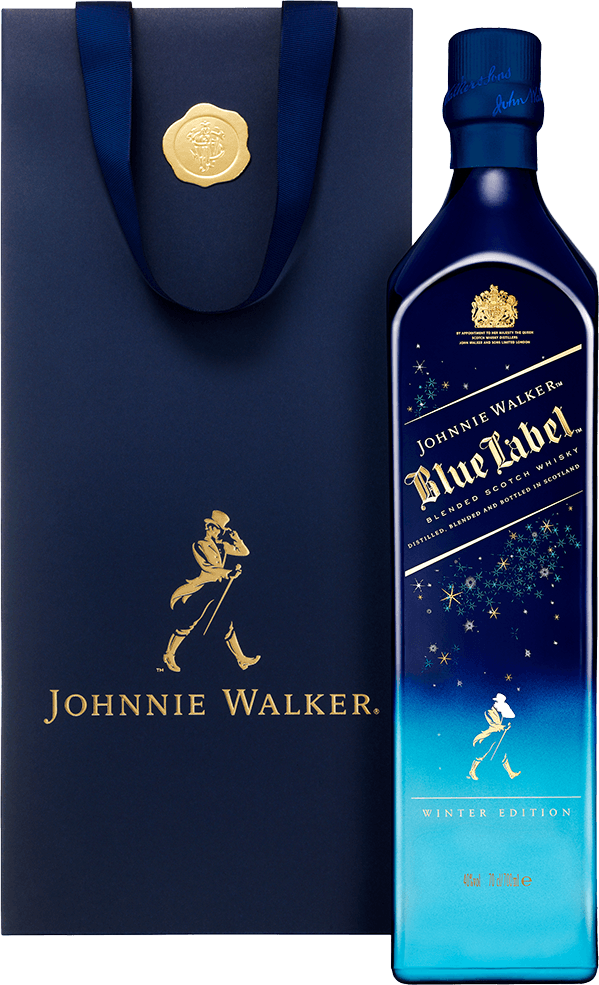 Johnnie Walker Blue Label Winter Edition 2016 Whisky GePa 2
