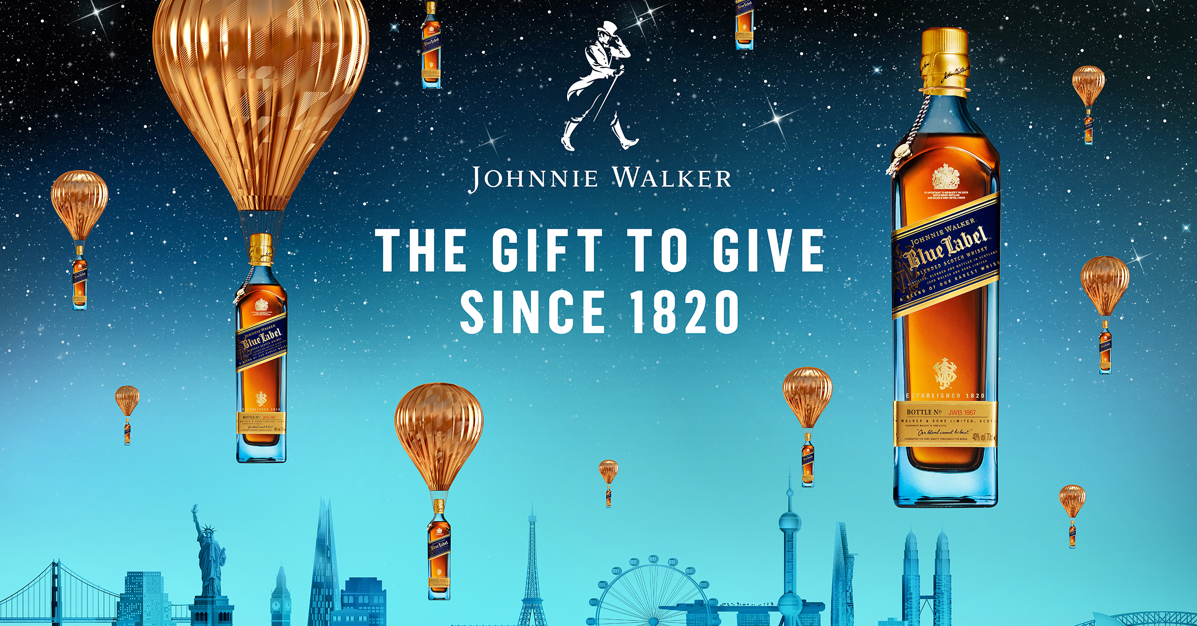 Johnnie Walker The gift to give since 1820