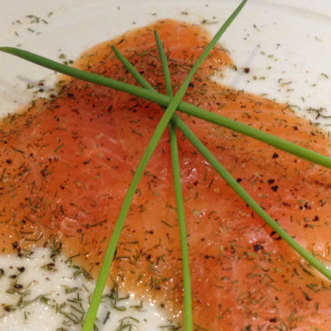 Wildlachs mit Single Malt Scotch Whisky gebeizt
