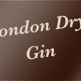 Was ist ein London Dry Gin – Eine Definition