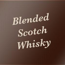 Blended Scotch Whisky – Eine Begriffsdefinition