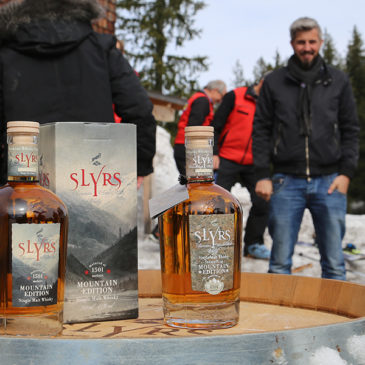 News – Slyrs Mountain Edition Whisky Präsentation auf dem Stümpfling